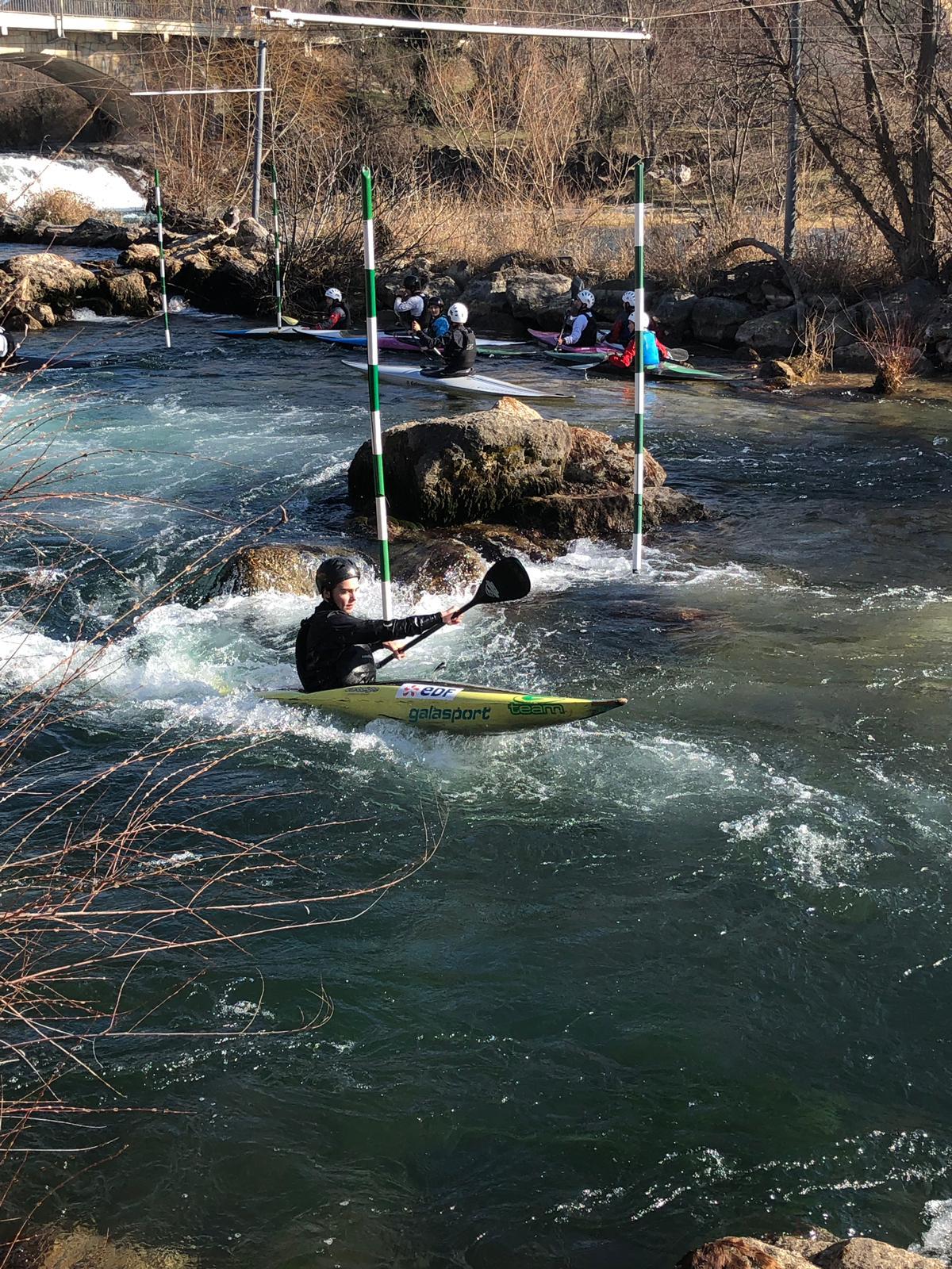 Journée d'entraînement eau vive – Vinon-sur-Verdon (19 février 2019)