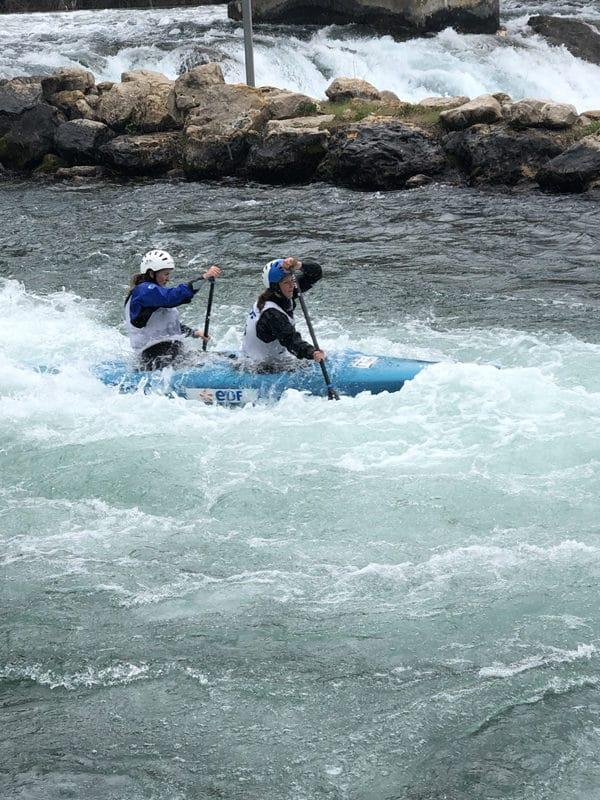 Le club de Canoë-kayak du Loup au championnat régional sud à Vinon sur Verdon