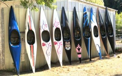 10 nouveaux canoës et kayaks au club !