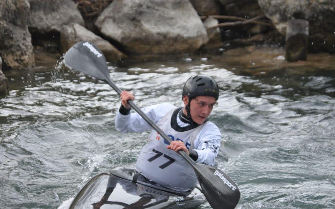 Le club de Canoë-kayak du Loup obtient de bons résultats à Réals pour la seconde course régionale de la saison