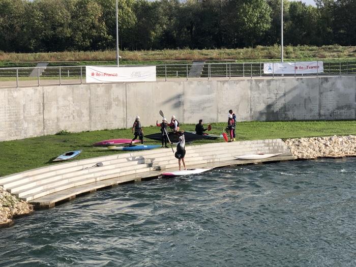 Le Canoë-kayak du Loup à Vaires-sur-Marne pour découvrir le bassin des futurs Jeux Olympiques de Paris 2024