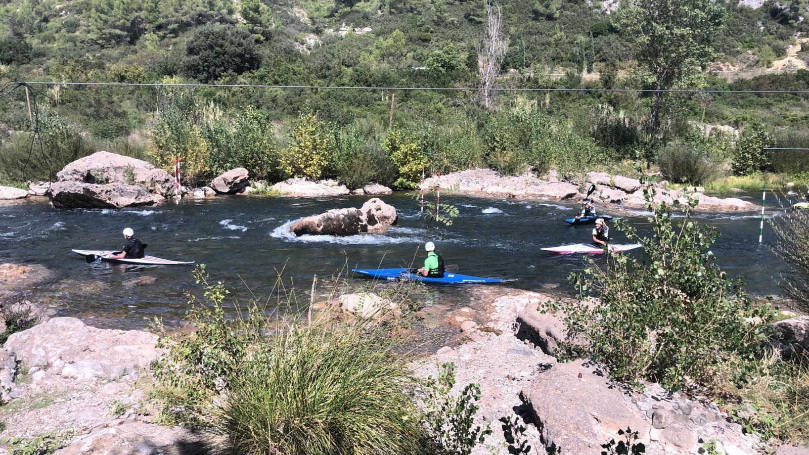Le Canoë kayak du Loup participe à la compétition à Réals
